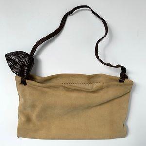 Dusica Dusica x Dusica Holder Wire Frame Suede Bag